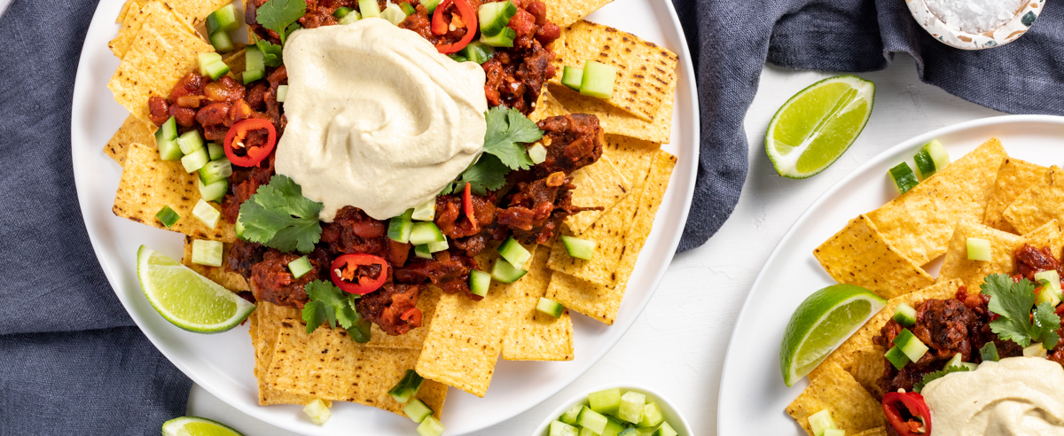 Fable Recipe – Chunky 'Beef' Nachos