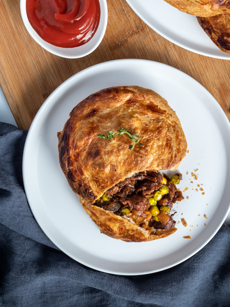 Fable Steak and Pea Pies