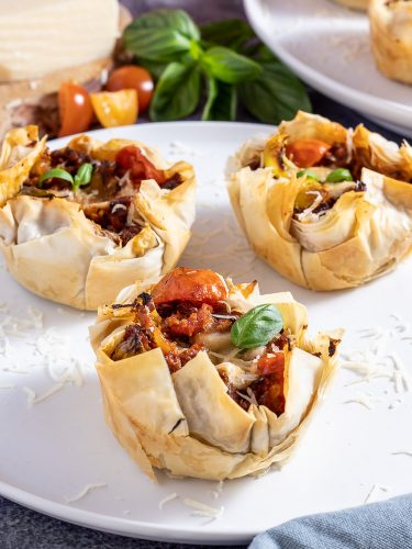 Sundfed Beef Bolognese Filo Pies